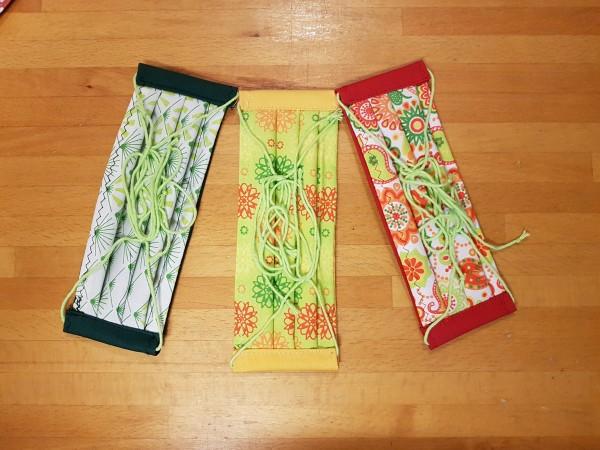 """Alltagsmasken Set """"Flower Power"""""""